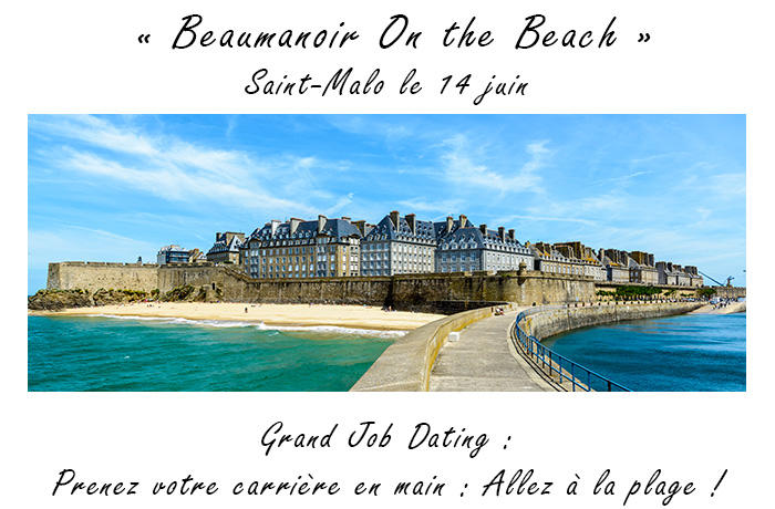 recrutement Beaumanoir on the beach