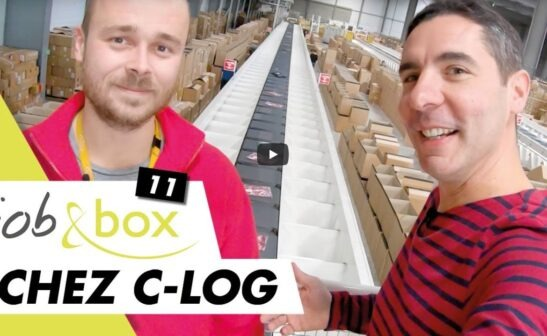 film agent logistique c-log job and box