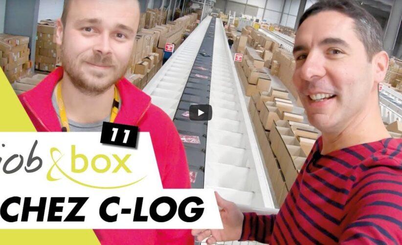 film agent logistique c-log job and box